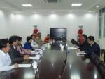 威海市徐连新副市长到国家海产品质量监督检验中心视察指导工作 - 质量技术监督局