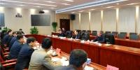 副省长于杰同志来我厅调研指导工作 - 人力资源和社会保障厅