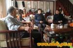 左敏、邓云锋等厅领导走访慰问离退休老同志 - 教育厅