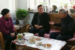 省林业厅党组书记崔建海走访慰问离退休干部 - 林业厅