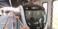 """济南地铁R1线首列车正线试跑 将于7月实现""""轨通"""" - 半岛网"""