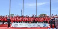 11月16日,国家主席习近平在莫尔兹比港和巴布亚新几内亚总理奥尼尔共同出席中国援建的布图卡学园启用仪式。新华社记者 谢环驰 摄 - 中国山东网