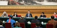 2019年3月5日,习近平参加十三届全国人大二次会议内蒙古代表团的审议。 - 中国山东网